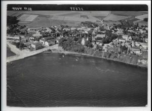 ZZ-4778/ Altefähr Rügen Foto seltenes Luftbild 1939 18 x 13 cm