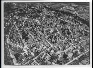 ZZ-4779/ Windsheim Foto seltenes Luftbild 1938 18 x 13 cm