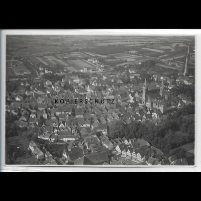 ZZ-4787/ Öhringen Foto seltenes Luftbild 1935 17 x 12 m