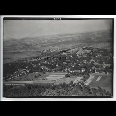 ZZ-4790/ Pfedelbach bei Heuberg Foto seltenes Luftbild 1935 18 x 13 cm