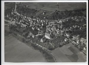 ZZ-4805/ Bieringen Schöntal Foto seltenes Luftbild ca.1936 18 x 13 cm