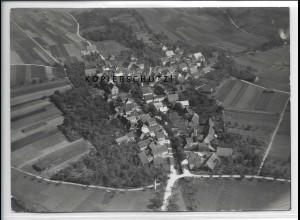 ZZ-4806/ Marlach Schöntal Foto seltenes Luftbild 1936 18 x 13 cm
