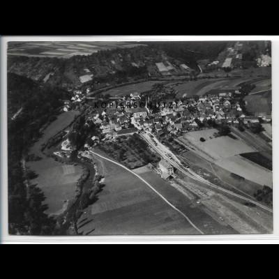ZZ-4808/ Berlichingen Schöntal Foto seltenes Luftbild ca.1936 18 x 13 cm