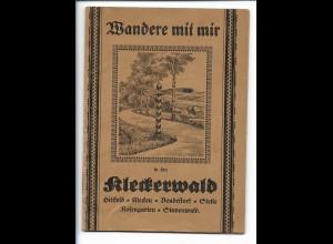 Y18845/ Wandere mit mir in den Kleckerwald Hittfeld, Rosengarten, Stelle, Heft