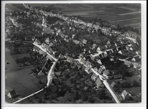 ZZ-4663/ Steinheim am Albuch Foto seltenes Luftbild 1936 18 x 13 cm