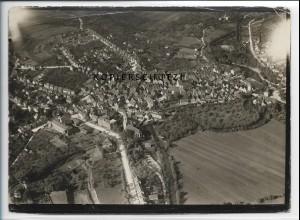 ZZ-4650/ Waiblingen Foto seltenes Luftbild 1936 18 x 13 cm