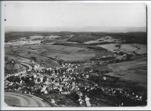 ZZ-4648/ Waldenbuch Foto seltenes Luftbild ca.1938 18 x 13 cm
