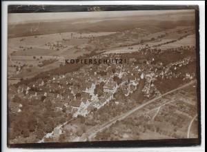ZZ-5272/ Weil im Schönbuch Foto seltenes Luftbild 18 x 13 cm 1936