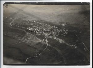 ZZ-5271/ Weil im Schönbuch Foto seltenes Luftbild 18 x 13 cm 1937