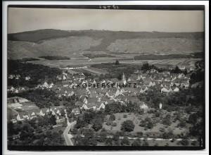 ZZ-5214/ Großheppach Weinstadt Foto seltenes Luftbild 18 x 13 cm ca.1938