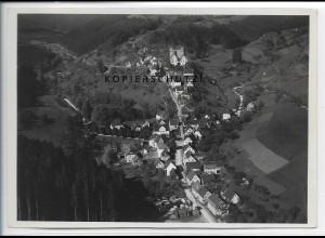 ZZ-4641/ Berneck Altensteig Foto seltenes Luftbild ca. 1936 18 x 13 cm