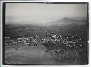 ZZ-4639/ Bisingen Foto seltenes Luftbild 1936 18 x 13 cm