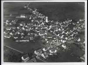 ZZ-4633/ Großengstingen Engstingen Foto seltenes Luftbild 1937 18 x 13 cm