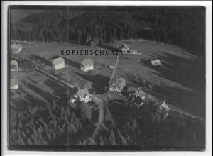 ZZ-4632/ Zwieselberg b. Freudenstadt Foto seltenes Luftbild 1934 18 x 13 cm