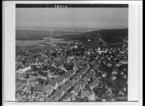 ZZ-4630/ Freudenstadt Foto seltenes Luftbild 1934 18 x 13 cm