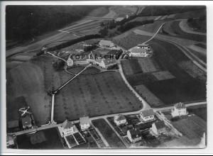 ZZ-4625/ Gammertingen Foto seltenes Luftbild ca.1938 18 x 13 cm