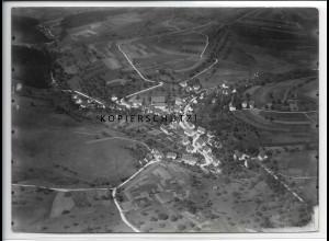 ZZ-4618/ Hausen am Tann Foto seltenes Luftbild ca.1935 18 x 13 cm