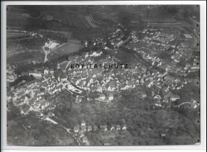 ZZ-4613/ Hechingen Foto seltenes Luftbild ca.1938 18 x 13 cm
