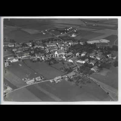 ZZ-4814/ Edling bei Wasserburg Foto seltenes Luftbild ca.1935 18 x 13 cm