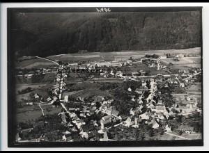 ZZ-5529/ Maulburg Foto seltenes Luftbild 18 x 13 cm