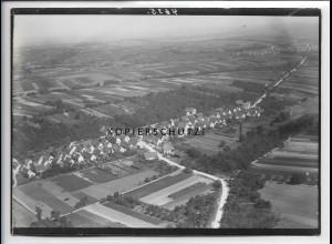 ZZ-5126/ Nordheim bei Nordheim Foto seltenes Luftbild ca.1938 18 x 13 cm