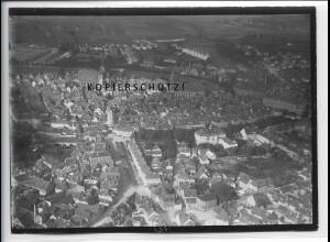 ZZ-4821/ Ansbach Foto seltenes Luftbild ca.1938 18 x 13 cm