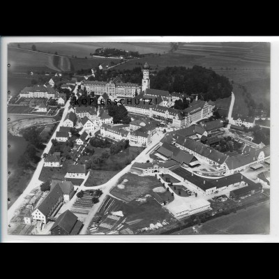 ZZ-4824/ Ursberg Foto seltenes Luftbild ca.1938 18 x 13 cm