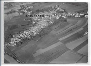 ZZ-4825/ Weidenbach Foto seltenes Luftbild 1939 18 x 13 cm