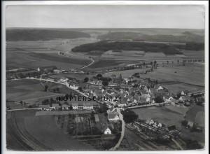 ZZ-4826/ Lichtenau Foto seltenes Luftbild ca.1938 18 x 13 cm