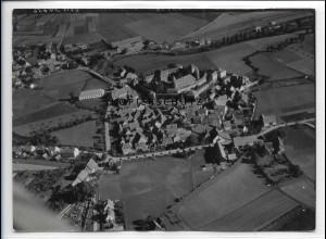 ZZ-4827/ Lichtenau Foto seltenes Luftbild ca.1938 18 x 13 cm