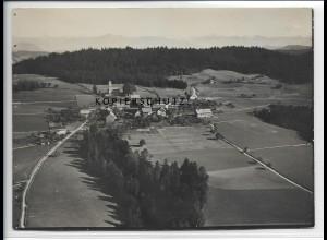 ZZ-5246/ Möggers bei Scheidegg Foto seltenes Luftbild 18 x 13 cm 1935