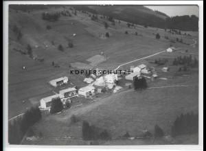 ZZ-4830/ Langenschwand Jungholz Foto seltenes Luftbild 1938 18 x 13 cm