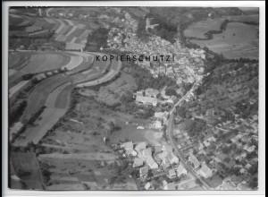 ZZ-4835/ Reineck Foto seltenes Luftbild 1939 18 x 13 cm