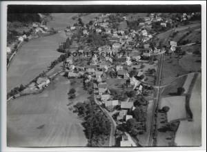 ZZ-5213/ Ober-Riedenberg Foto seltenes Luftbild 18 x 13 cm 1939
