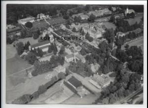 ZZ-4913/ Bad Brückenau Foto seltenes Luftbild 1939 18 x 13 cm