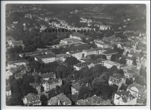 ZZ-4908/ Bad Kissingen Foto seltenes Luftbild 1937 18 x 13 cm