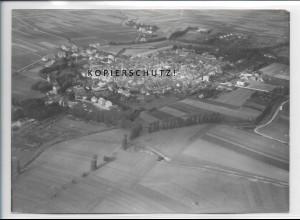 ZZ-4897/ Königshofen i. Grabfeld Foto seltenes Luftbild 1937 18 x 13 cm