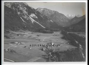 ZZ-4893/ Zell bei Traunstein Foto seltenes Luftbild 1938 18 x 13 cm