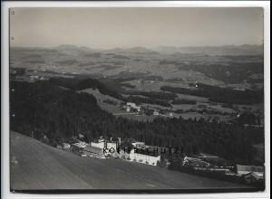 ZZ-4690/ Scheidegg Foto seltenes Luftbild 1935 18 x 13 cm