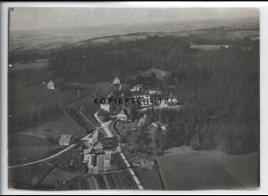 ZZ-4692/ Scheidegg mit Kinderheim Foto seltenes Luftbild 1935 18 x 13 cm