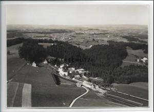 ZZ-4693/ Scheidegg Foto seltenes Luftbild 1935 18 x 13 cm