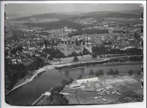 ZZ-4703/ Aschaffenburg Foto seltenes Luftbild 1935 18 x 13 cm