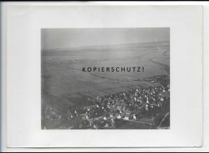 ZZ-4705/ Nufringen Foto seltenes Luftbild 1936 18 x 13 cm