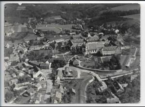 ZZ-4709/ Metten bei Deggendorf Foto seltenes Luftbild 1937 18 x 13 cm