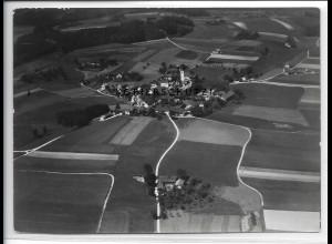 ZZ-4710/ Mehring bei Burghausen Foto seltenes Luftbild 1938 18 x 13 cm