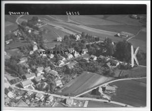 ZZ-4713/ Eberspoint bei Velden Foto seltenes Luftbild 1938 18 x 13 cm