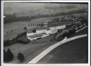 ZZ-4714/ Lindenberg Sanatorium Foto seltenes Luftbild 1939 18 x 13 cm