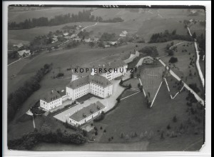 ZZ-4715/ Lindenberg Sanatorium Foto seltenes Luftbild 1939 18 x 13 cm
