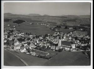 ZZ-4716/ Lindenberg Foto seltenes Luftbild 1935 18 x 13 cm