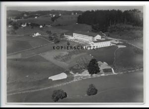 ZZ-4718/ Lindenberg Sanatorium Foto seltenes Luftbild 1938 17,5 x 12,5 cm